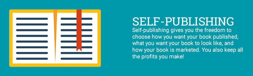 How is self-publishing different from traditional publishing?