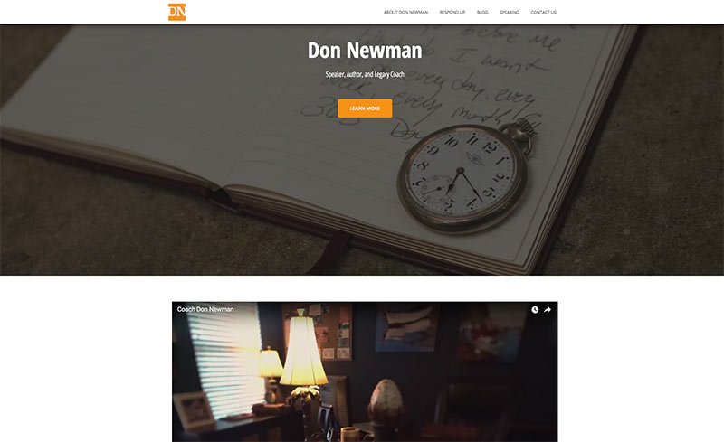 Donald Newman Website