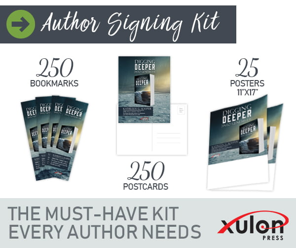 Deluxe Book Signing Kit